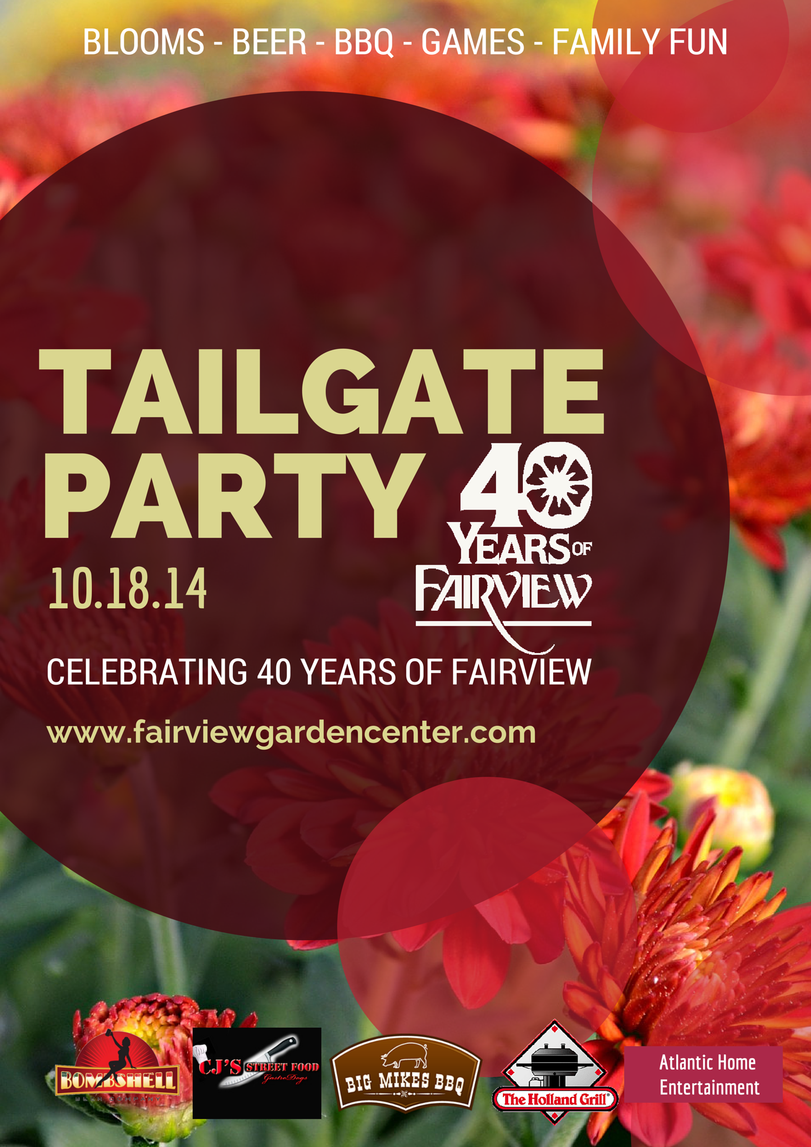 Fairview Tailgate Party Poster