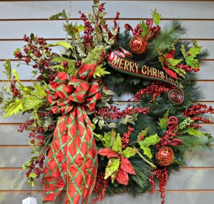 Holiday Cheer Wreath
