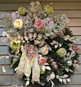 Romantic Vintage Wreath