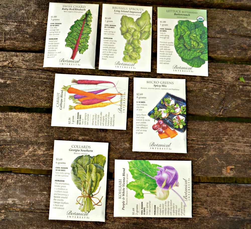 cool season veggie seeds