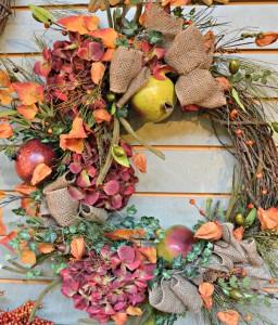 pom-wreath