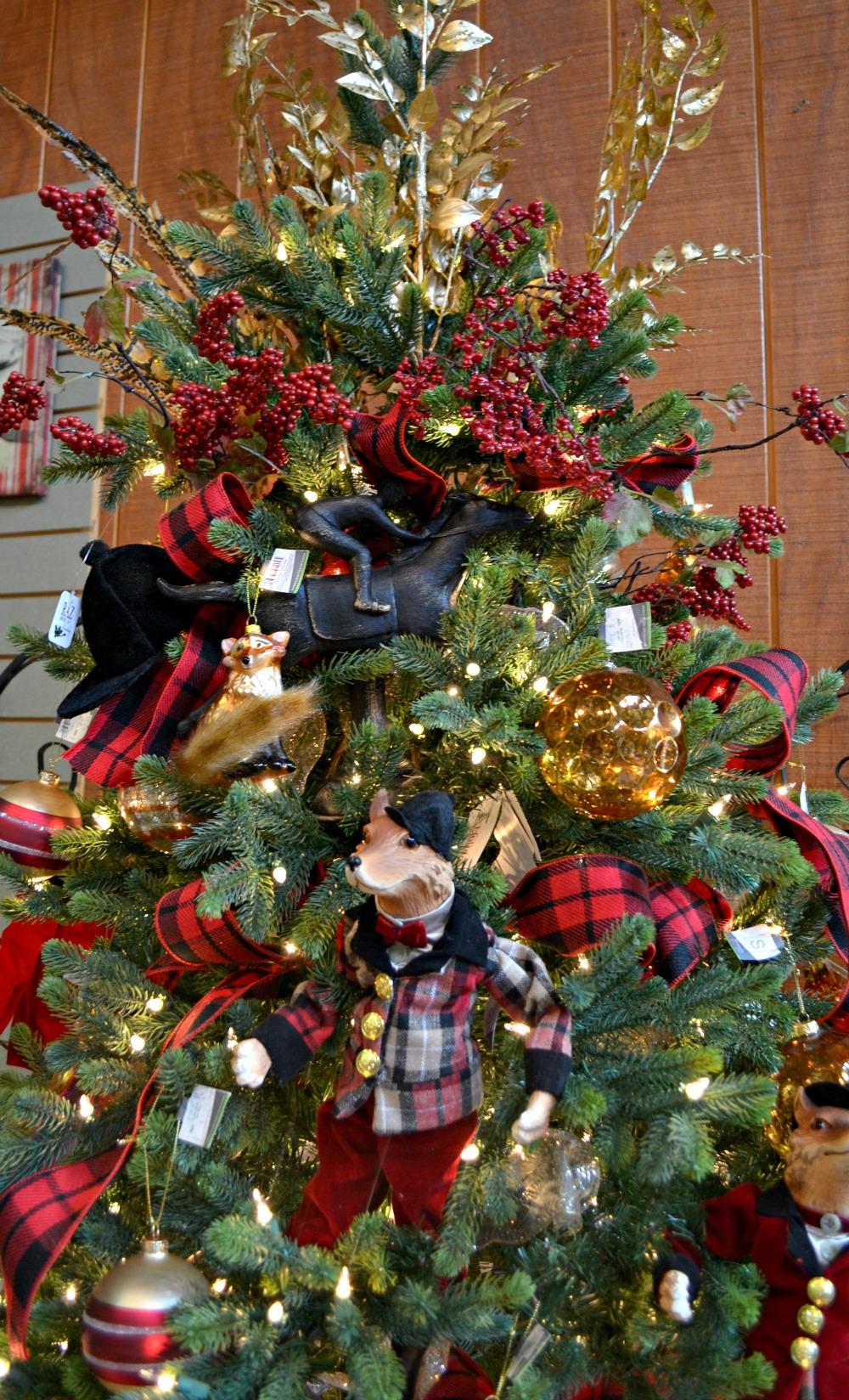 English Themed Christmas Decorations