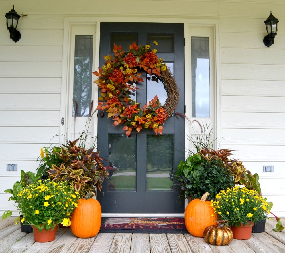 Fall Front Door: Fairview Garden Center